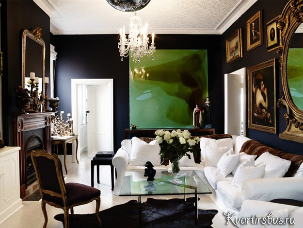 Awesome Neoclassical Living Room  Home Design